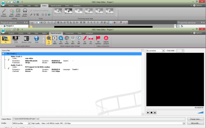 gratis video resizer