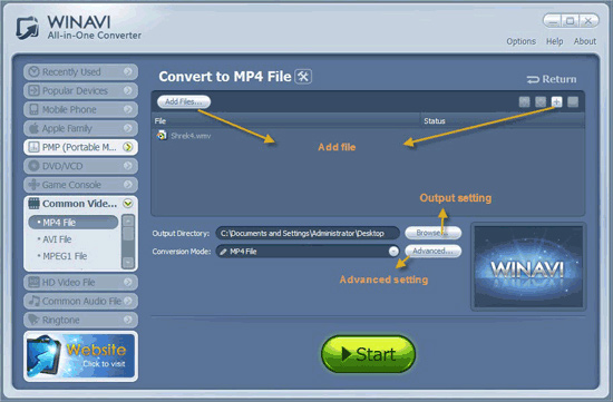 wmv naar mp4 converter gratis download
