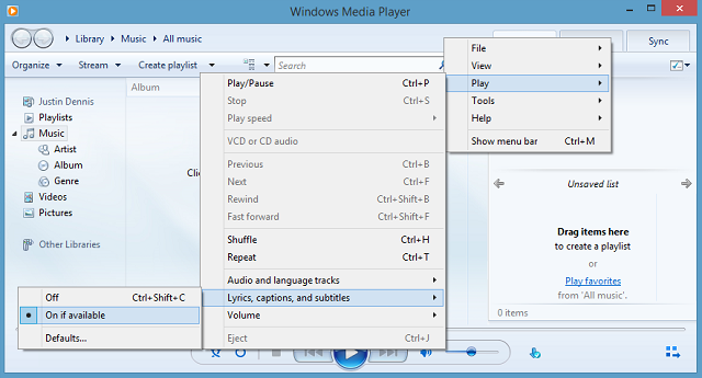 windows add subtitles to mp4