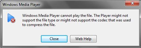 play vob in windows media player