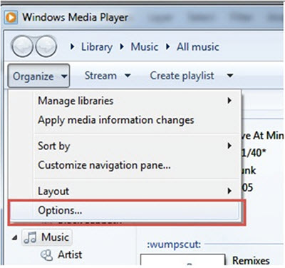 converteer wav naar mp3 windows media player