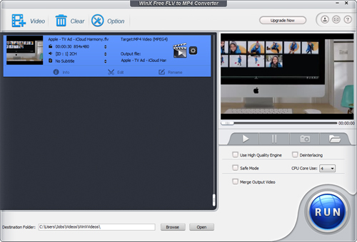 convertir flv en mp4 freeware