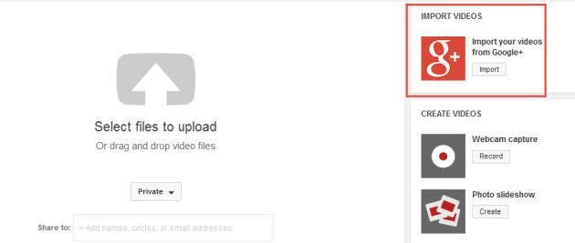 google drive video uploader
