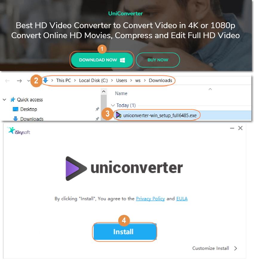 install hd video converter